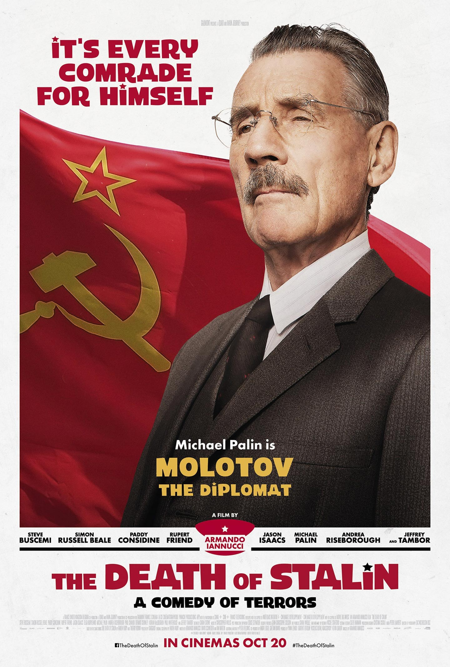 The Death of Stalin Poster #6