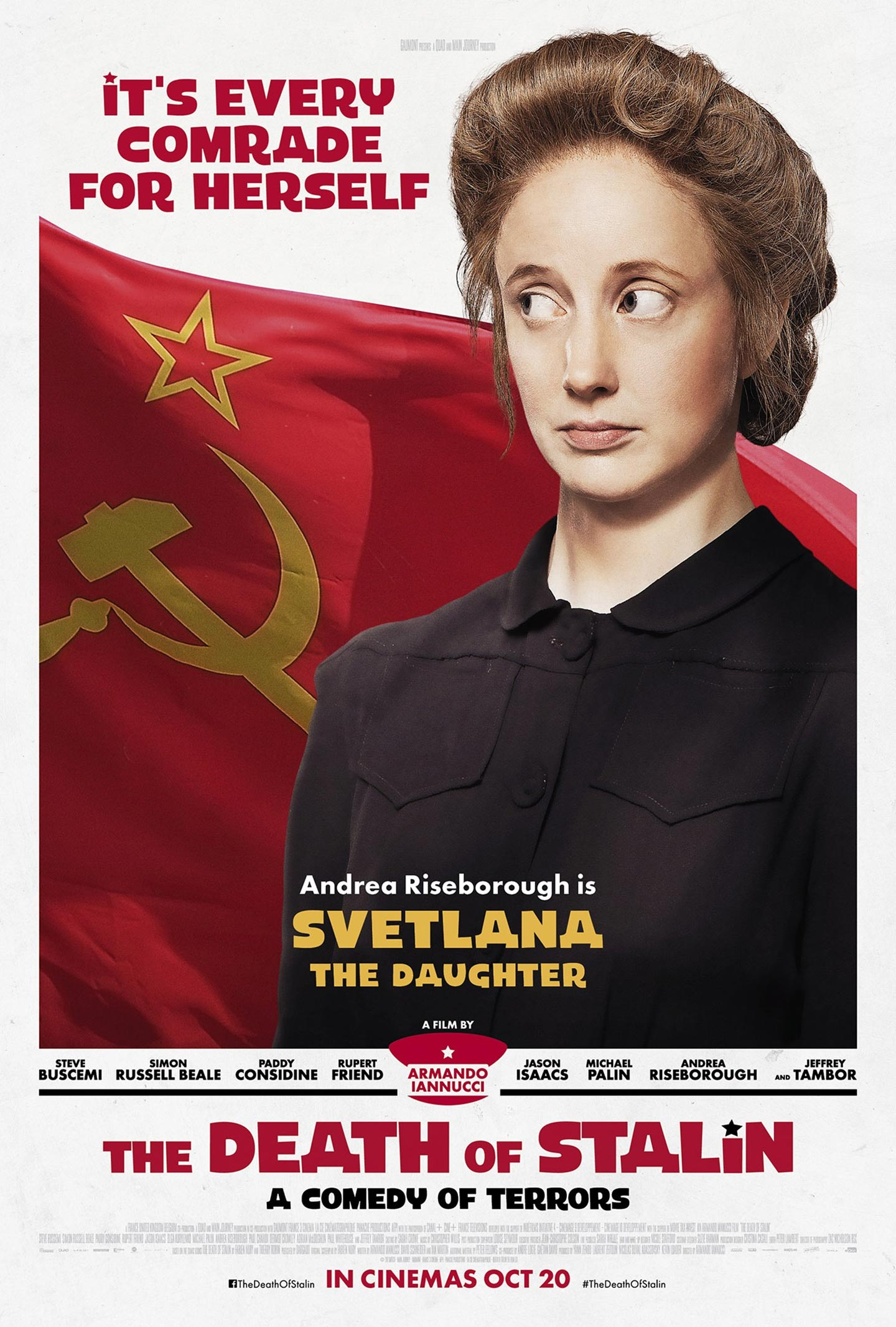 The Death of Stalin Poster #8