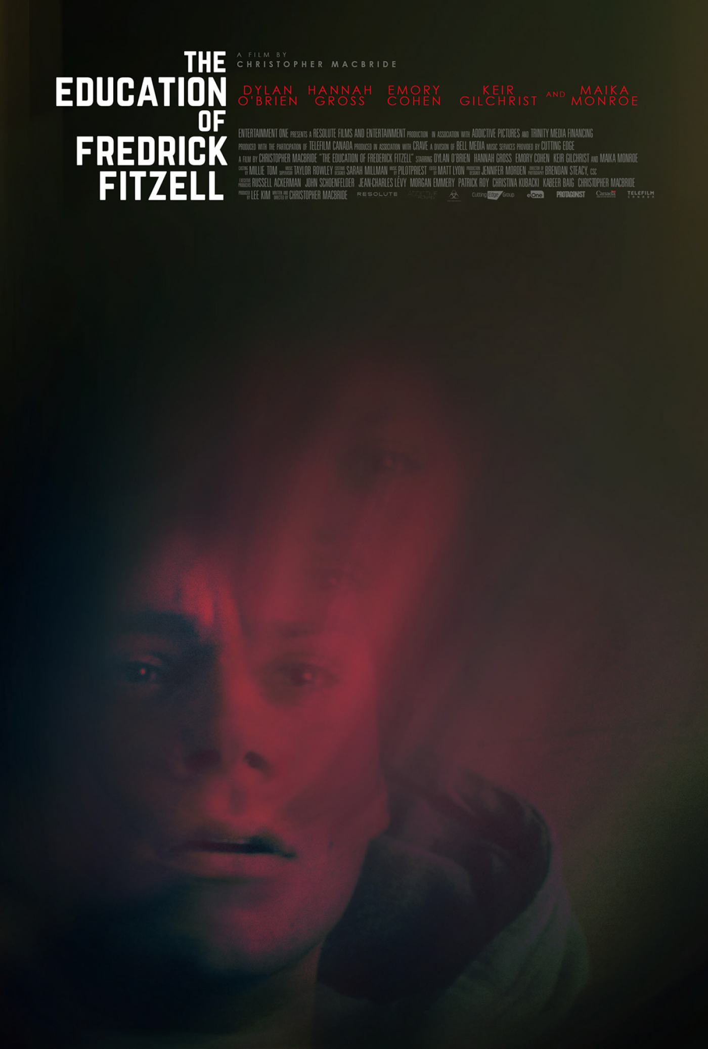 The Education of Fredrick Fitzell Poster #1