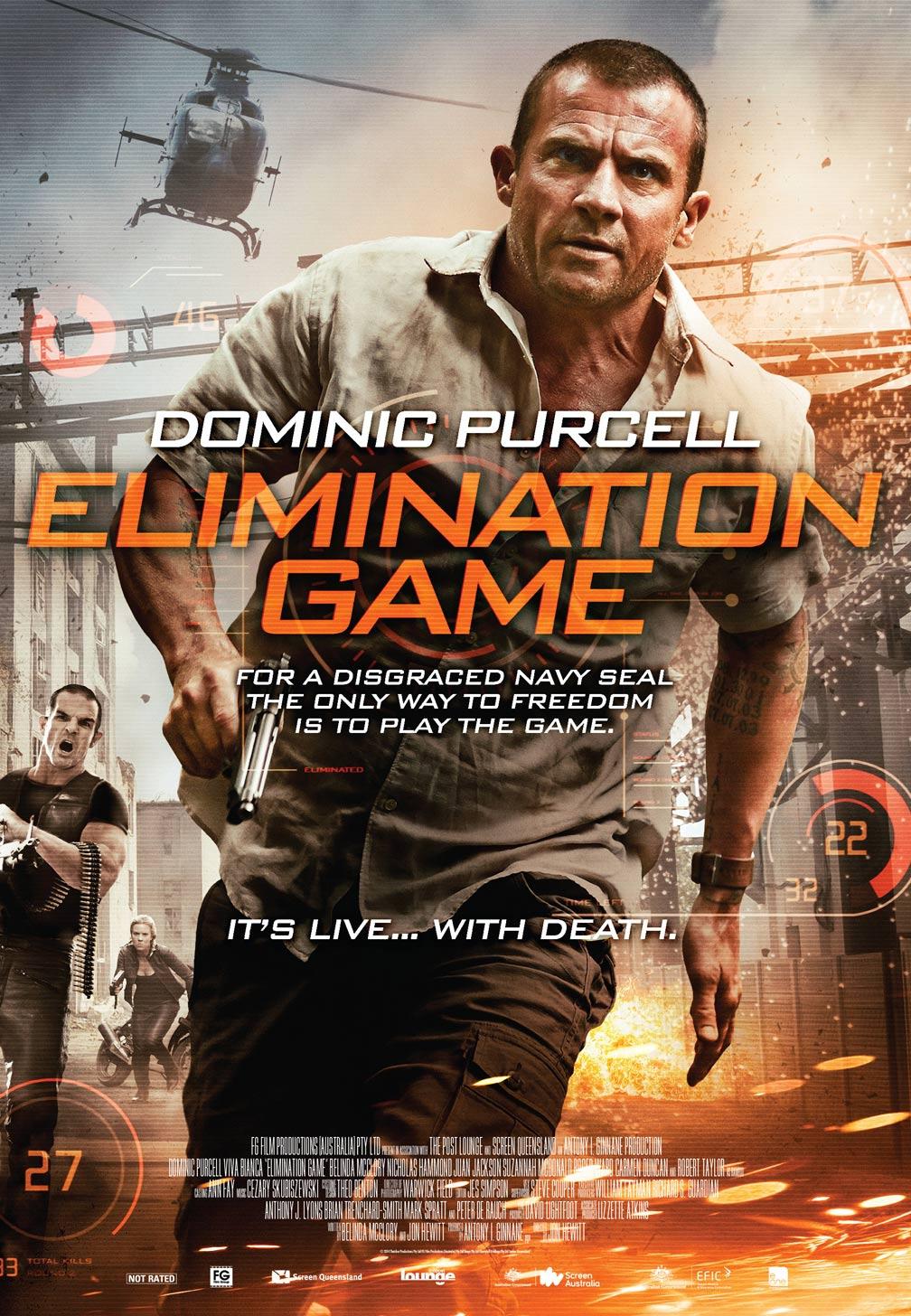 Elimination Game (2014) Poster #1 - Trailer Addict