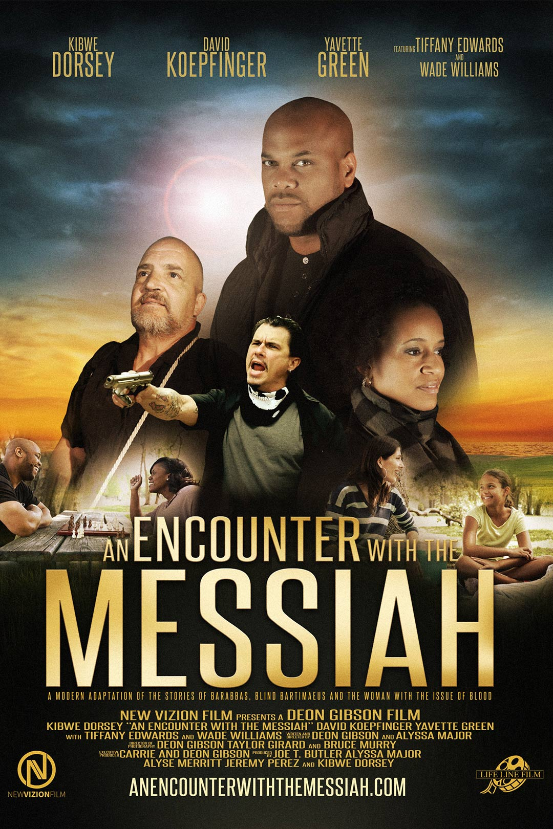 An Encounter with the Messiah Poster #1