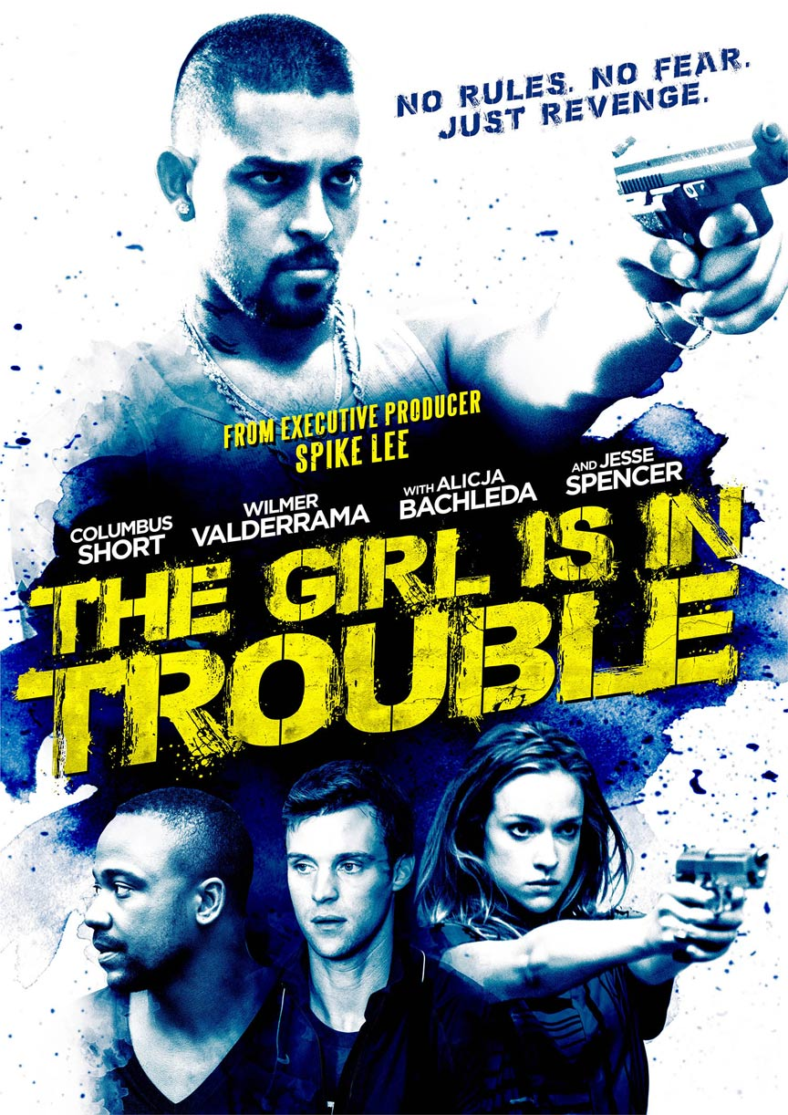 The Girl is in Trouble Poster #2