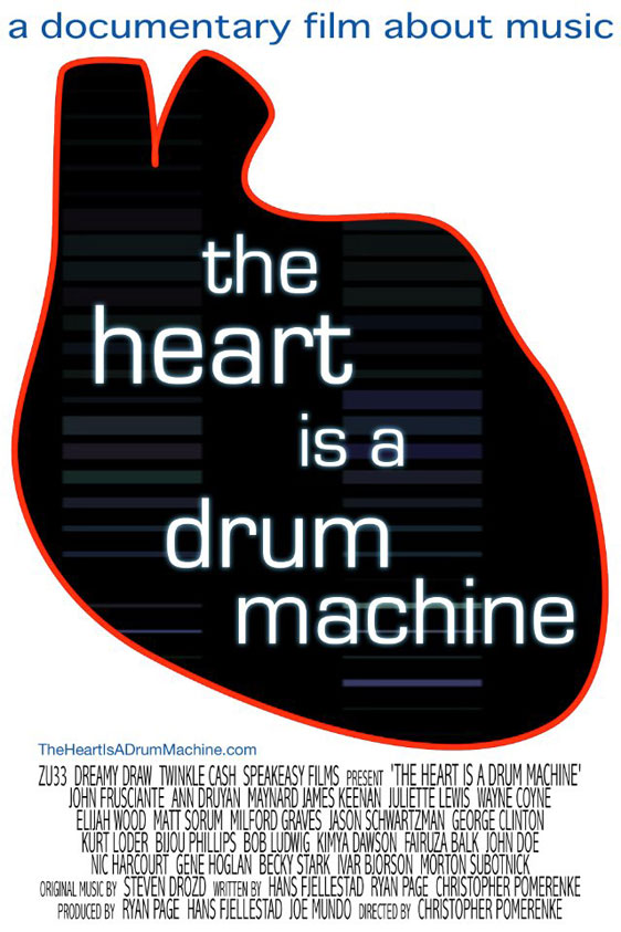 The Heart Is a Drum Machine Poster #1