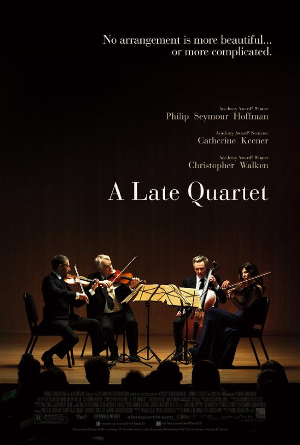 A Late Quartet Poster #1