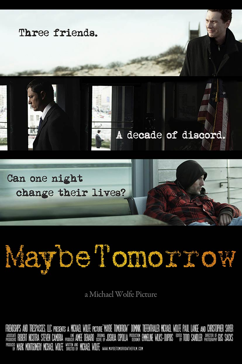 Maybe Tomorrow Poster #1