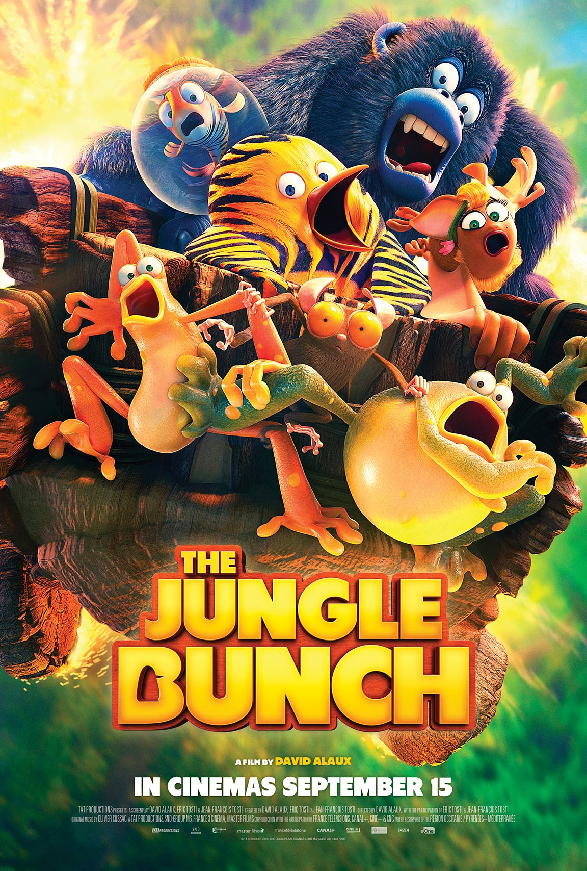 The Jungle Bunch Poster #1