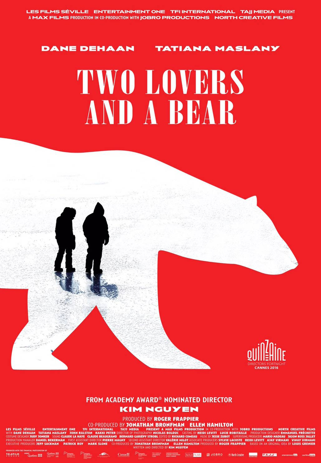 Two Lovers and a Bear Poster #1