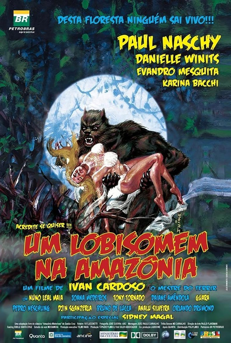 A Werewolf in the Amazon Poster #1