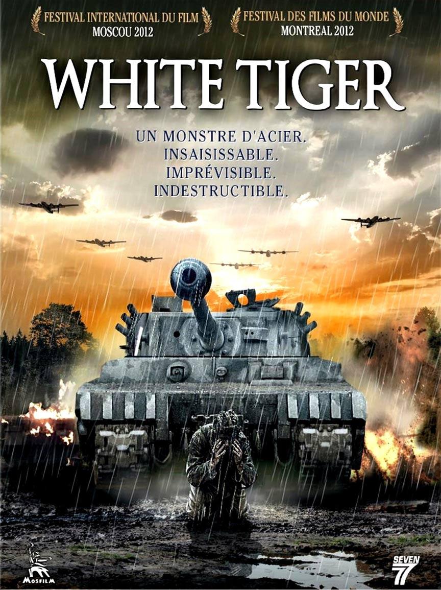 White Tiger Poster #1