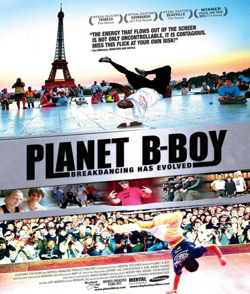 Planet B-Boy Poster #1