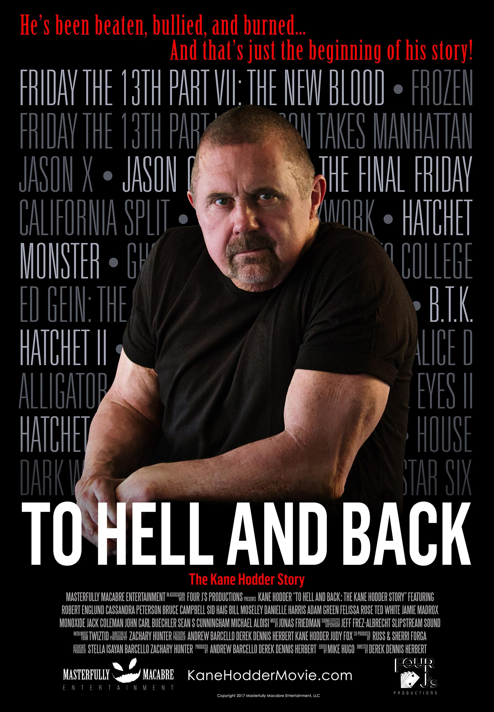 To Hell and Back: The Kane Hodder Story Poster #1