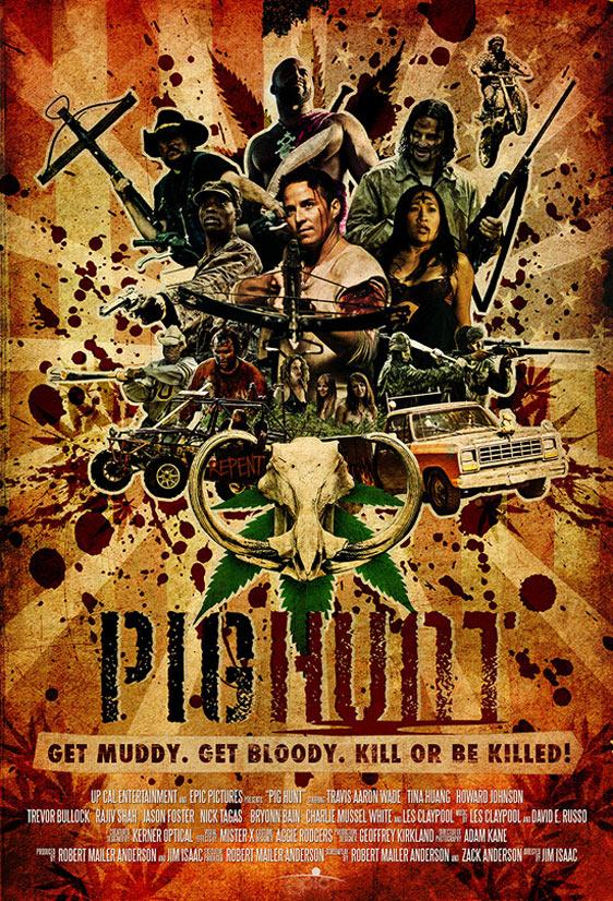 Pig Hunt Poster #2