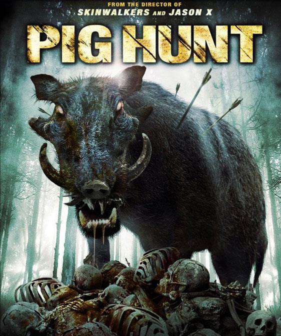 Pig Hunt Poster #3