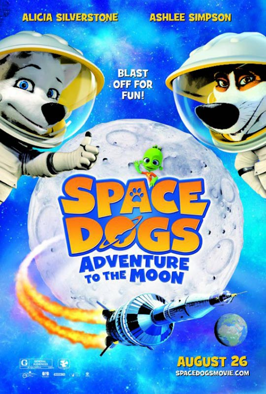 Space Dogs 3D Poster #2
