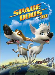 Space Dogs 3D Poster #1
