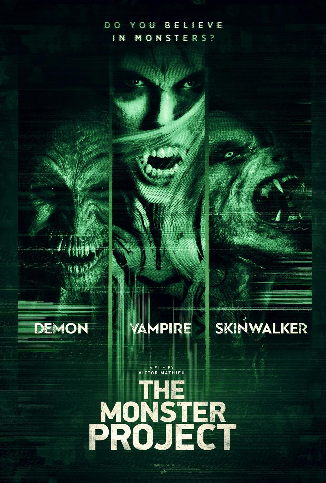 The Monster Project Poster #1