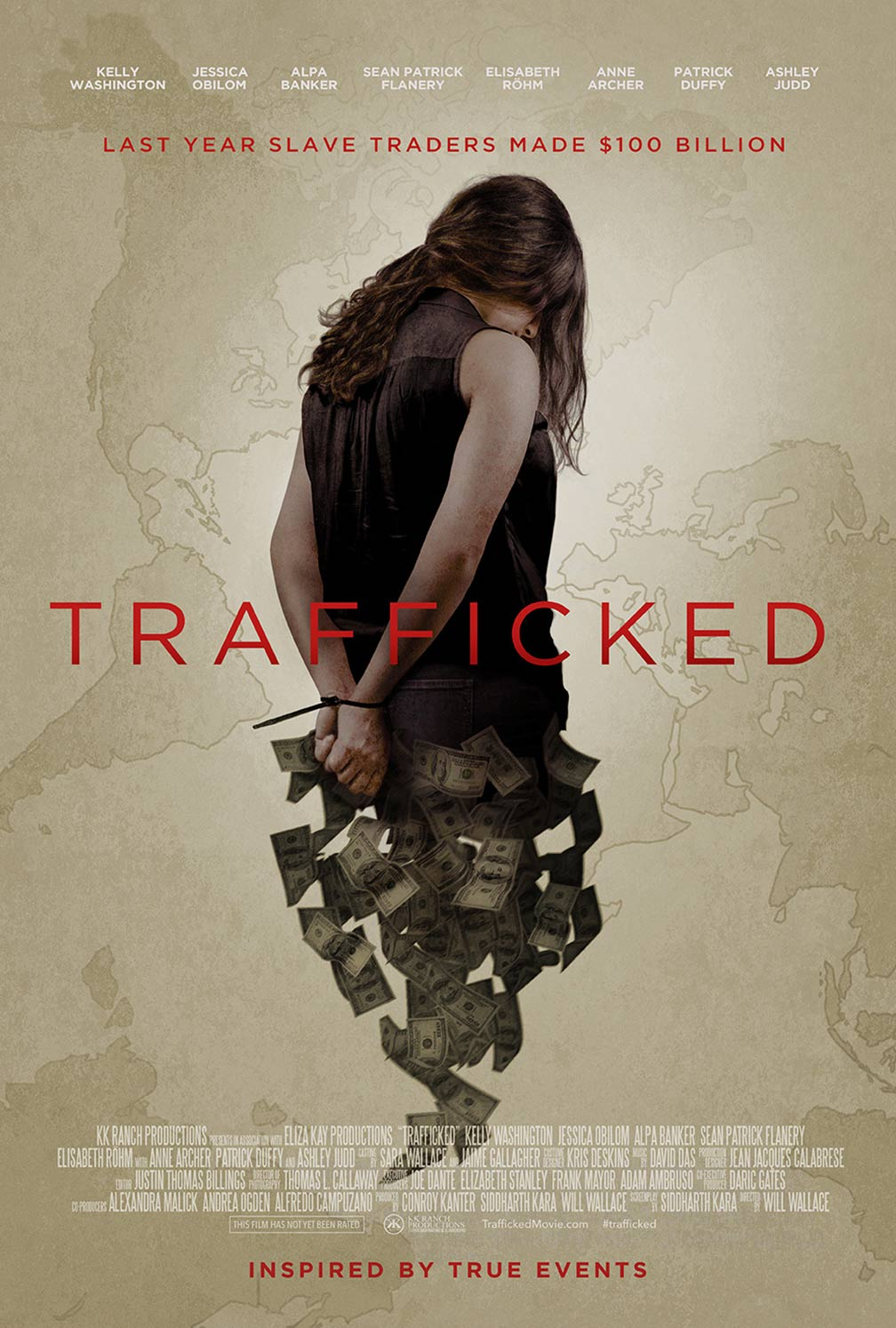 Trafficked Poster #1