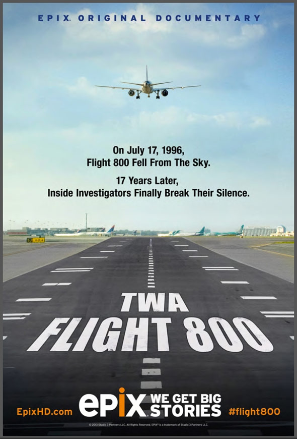 TWA Flight 800 Poster #1