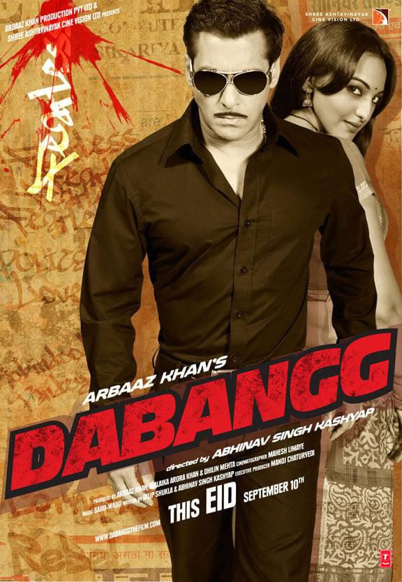Image result for Dabangg (2010) poster
