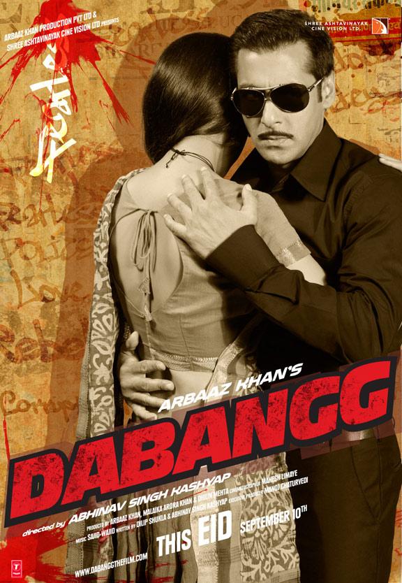 Dabangg (2010) Poster #7 - Trailer Addict