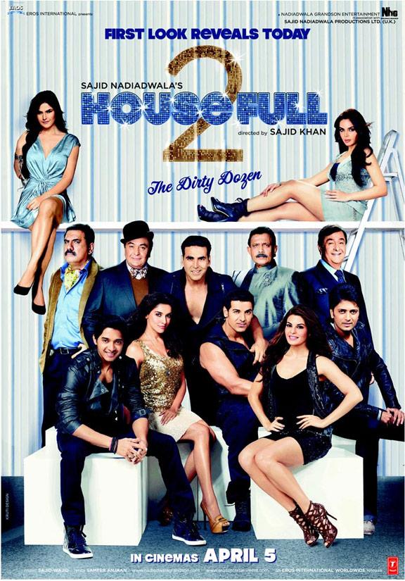 Housefull 2 Poster #1