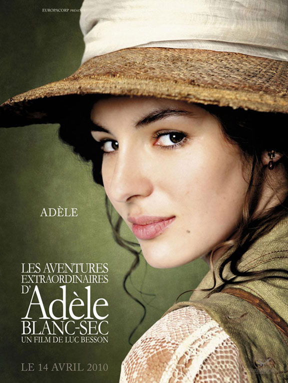 The Extraordinary Adventures of Adèle Blanc-Sec Poster #10