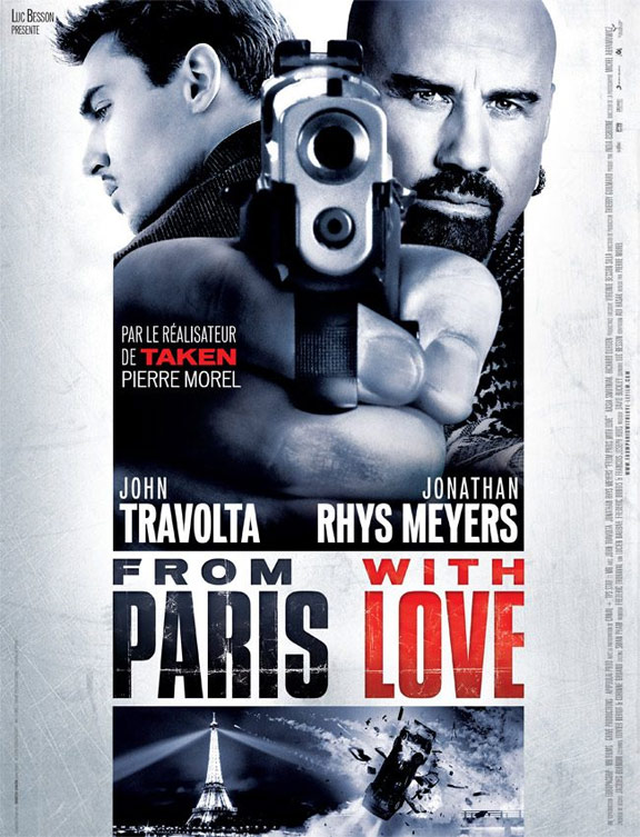 From Paris With Love Poster #5