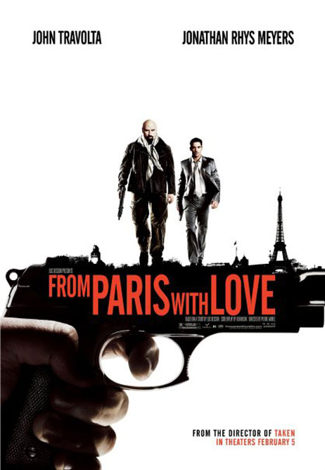 From Paris With Love Poster #9
