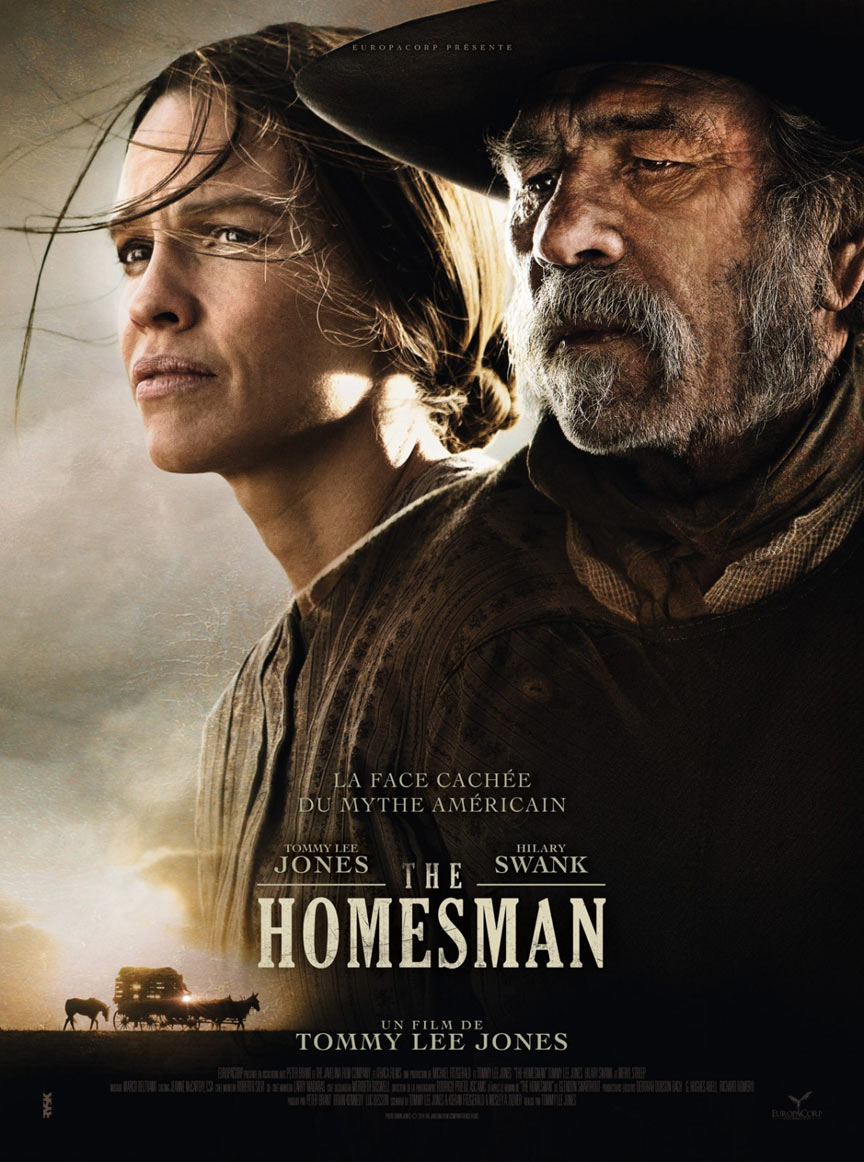The Homesman Poster #1