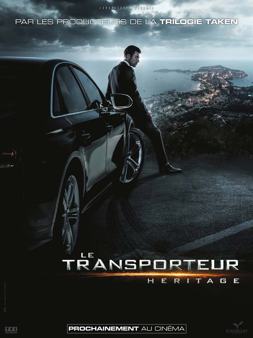 The Transporter Refueled Poster #2