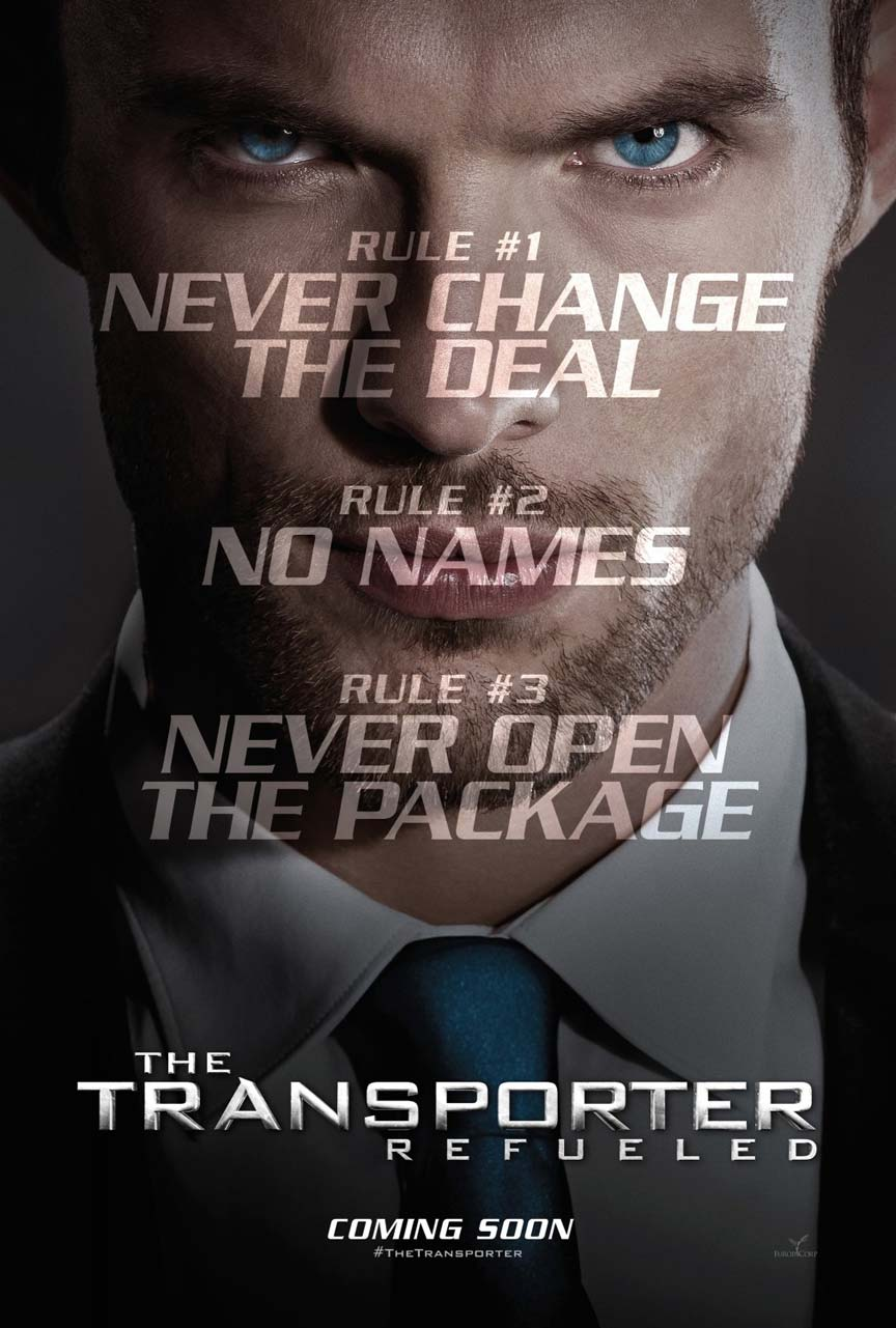 The Transporter Refueled Poster #1