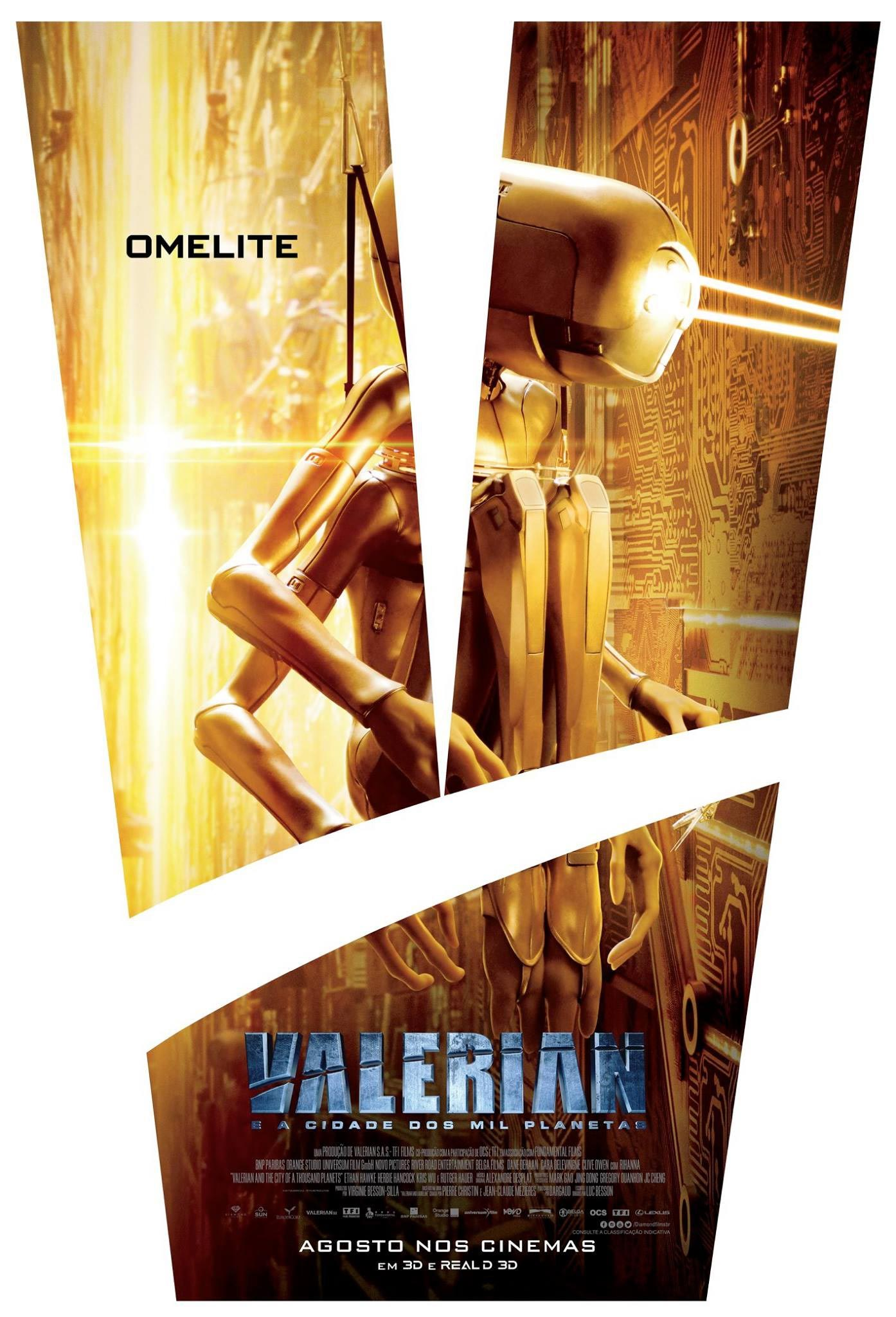 Valerian and the City of a Thousand Planets Poster #3