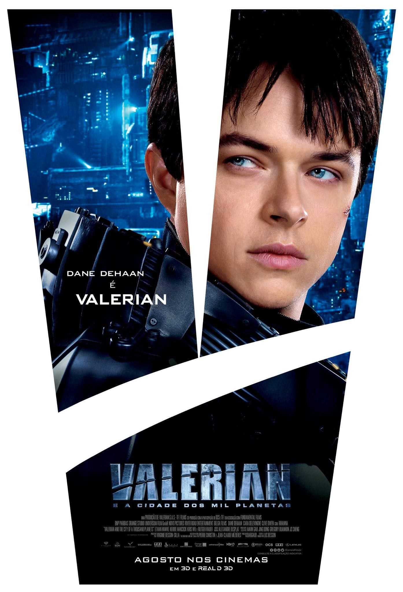 Valerian and the City of a Thousand Planets Poster #5