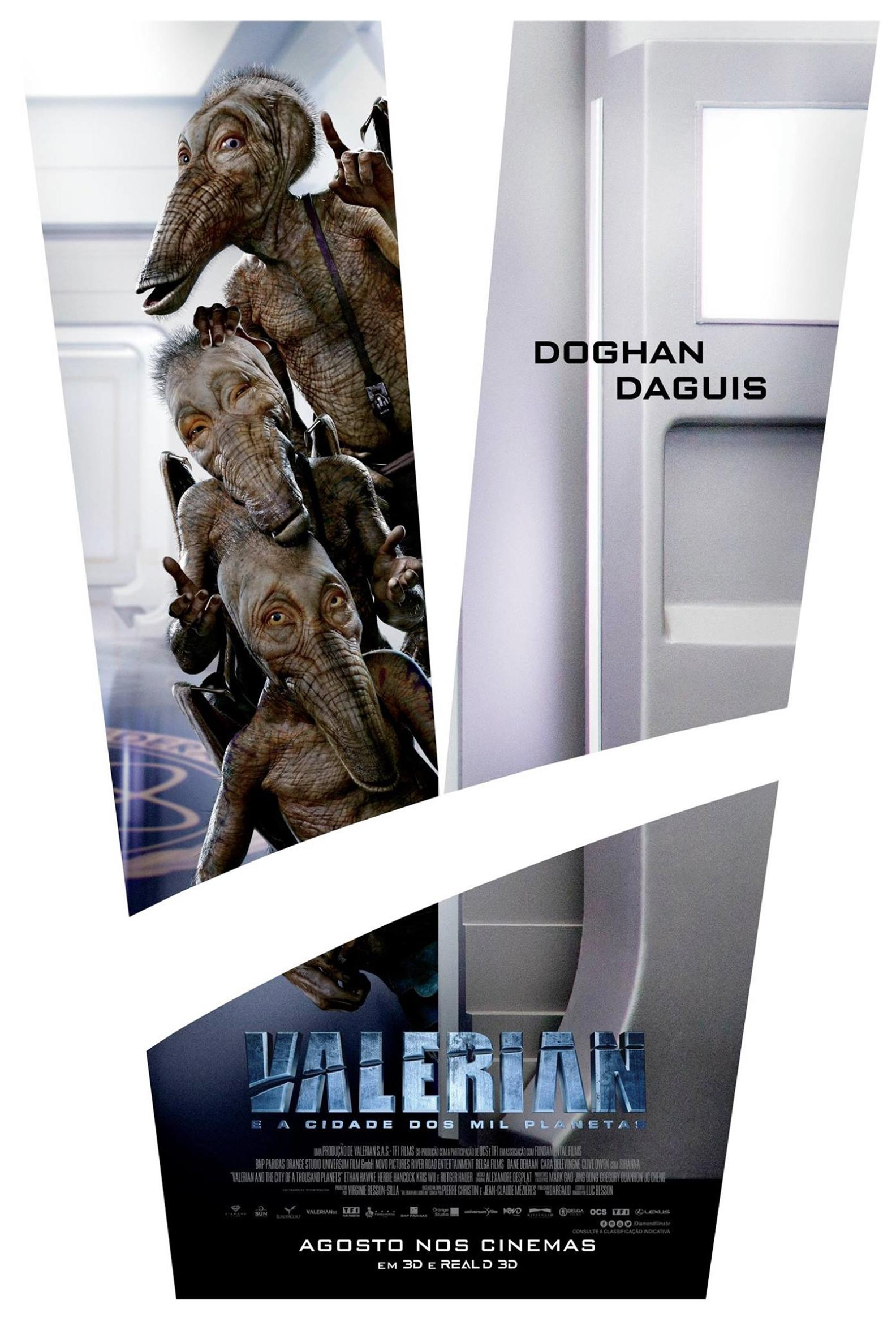 Valerian and the City of a Thousand Planets Poster #9