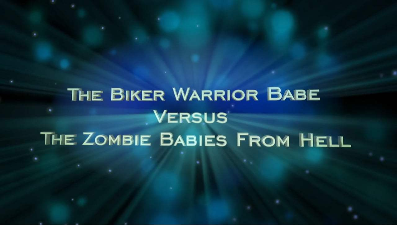 The Biker Warrior Babe vs. The Zombie Babies from Hell Trailer (2014) Screen Capture #4