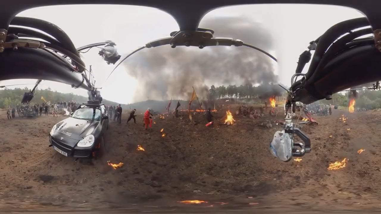 Transformers: The Last Knight 360 VR - Behind the Scenes (2017) Screen Capture #2