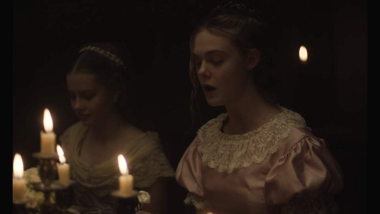 The Beguiled (2017) - Dinner Dress Screen Capture #1