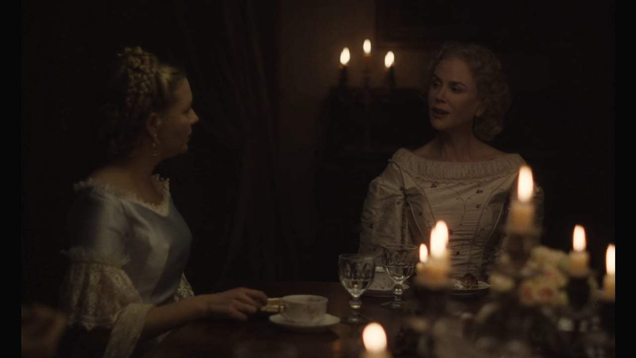 The Beguiled (2017) - Dinner Dress Screen Capture #2