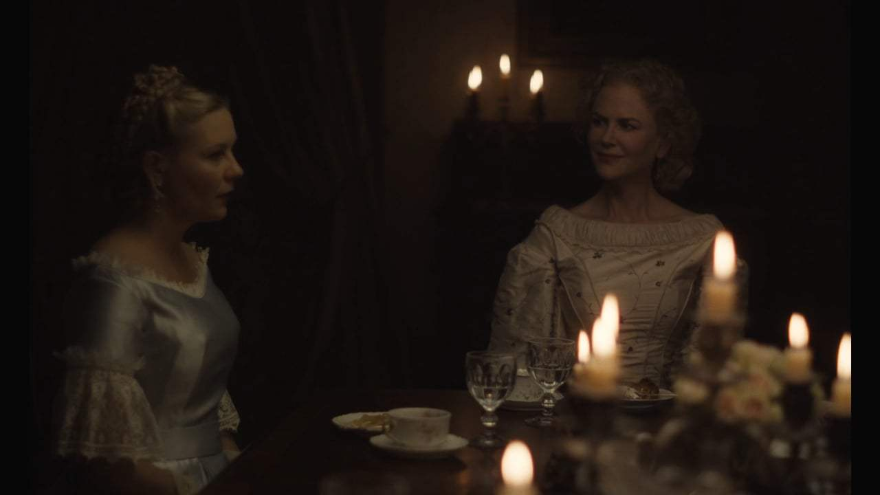 The Beguiled (2017) - Dinner Dress Screen Capture #3