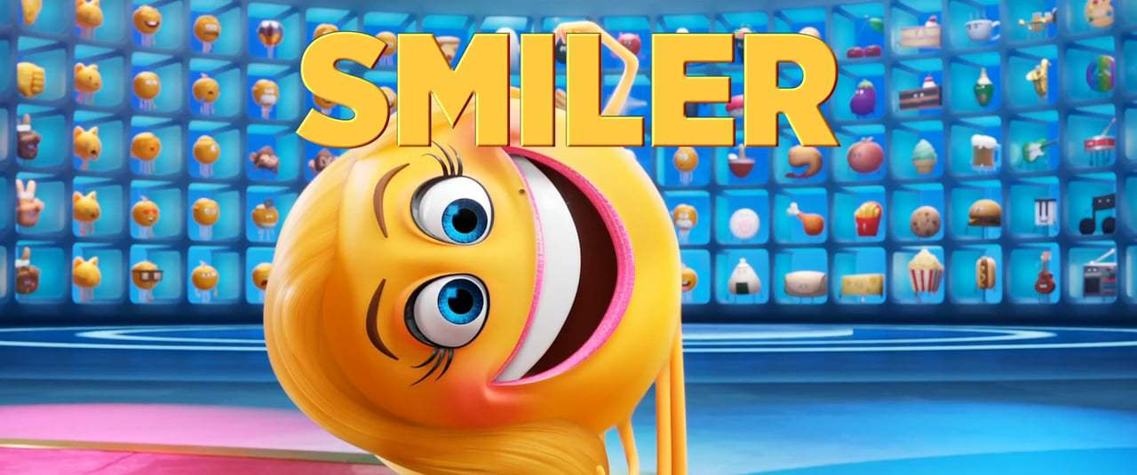The Emoji Movie TV Spot - Meet Smiler (2017) Screen Capture #1