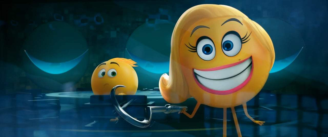 The Emoji Movie TV Spot - Meet Smiler (2017) Screen Capture #3