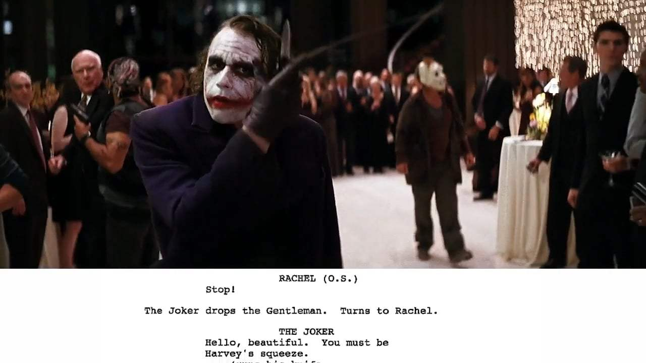 The Dark Knight Featurette - From Script to Screen (2008) Screen Capture #1