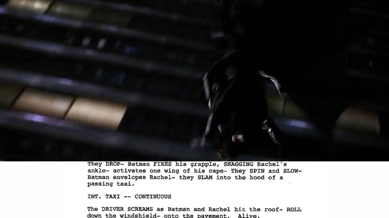 The Dark Knight Featurette - From Script to Screen (2008) Screen Capture #4