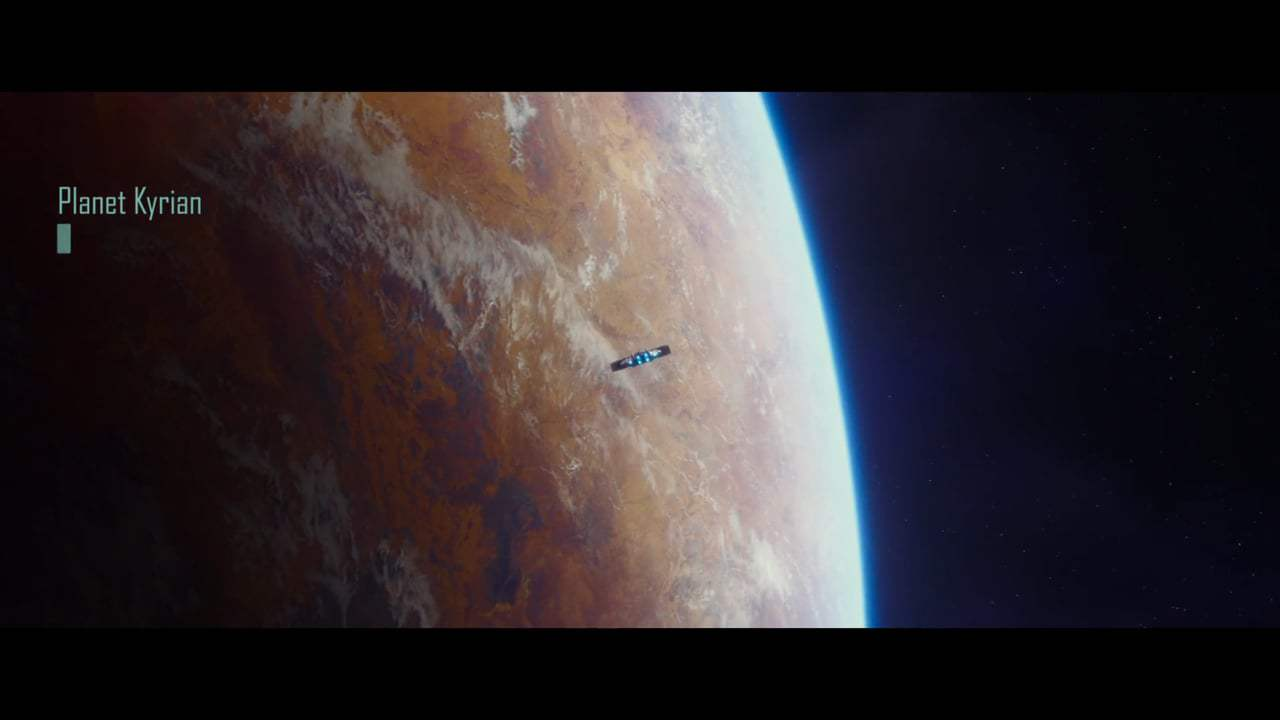 Valerian and the City of a Thousand Planets (2017) - Leaving Exo Space Screen Capture #2