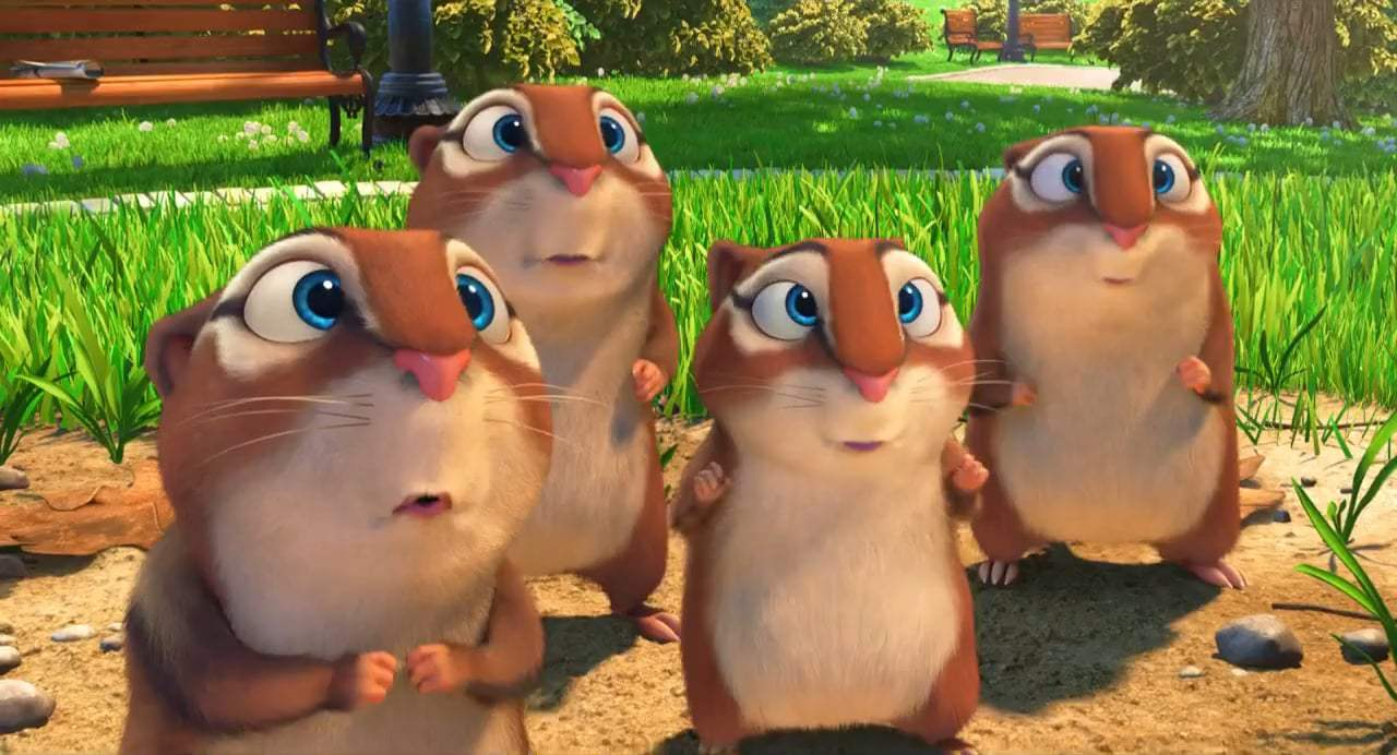 The Nut Job 2: Nutty by Nature TV Spot - Get Nuts (2017) Screen Capture #4