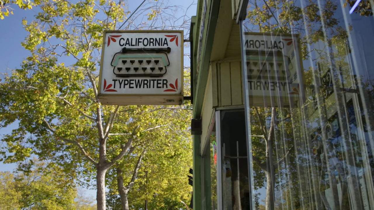 California Typewriter Trailer (2017) Screen Capture #2