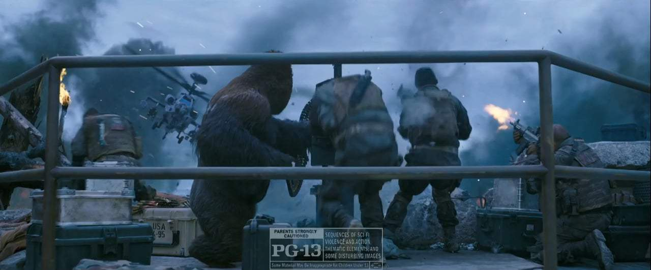 War for the Planet of the Apes TV Spot - Winner Takes All (2017) Screen Capture #4