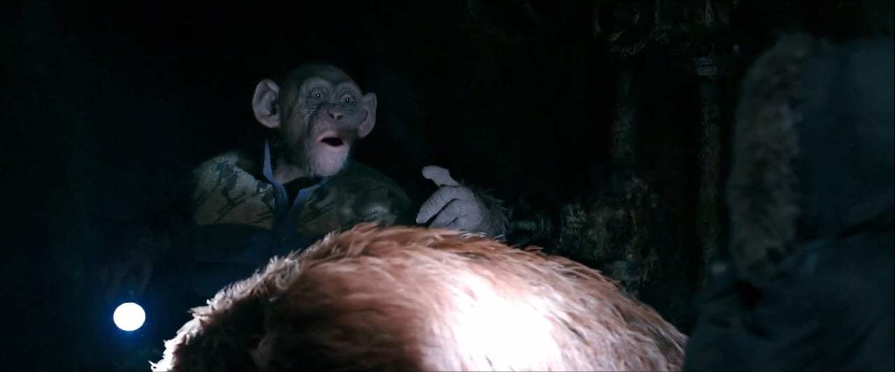 War for the Planet of the Apes (2017) - Bad Ape and Maurice Screen Capture #3