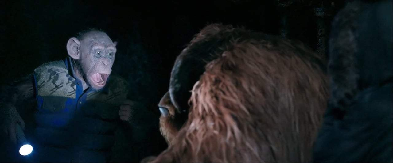 War for the Planet of the Apes (2017) - Bad Ape and Maurice Screen Capture #4