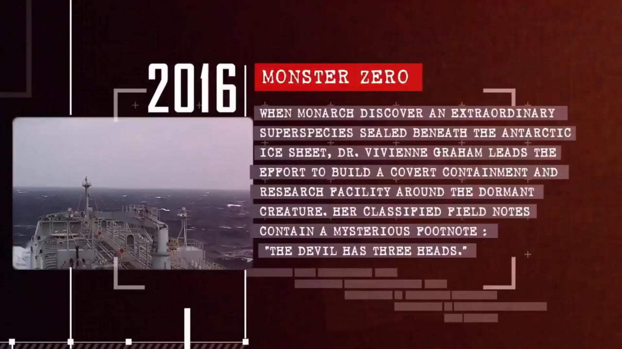 Godzilla: King of the Monsters Viral - Monster Zero (2019) Screen Capture #1